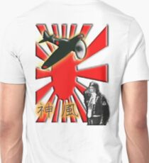WAR PLANE, ZERO, JAPAN, Kamikazi, Zero Pilot, Japanese, World War Two, WWII, T-Shirt