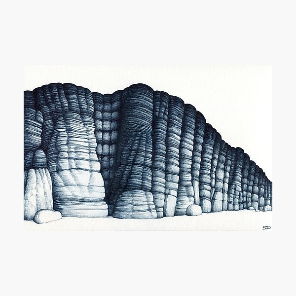 Rock formation #25 Photographic Print