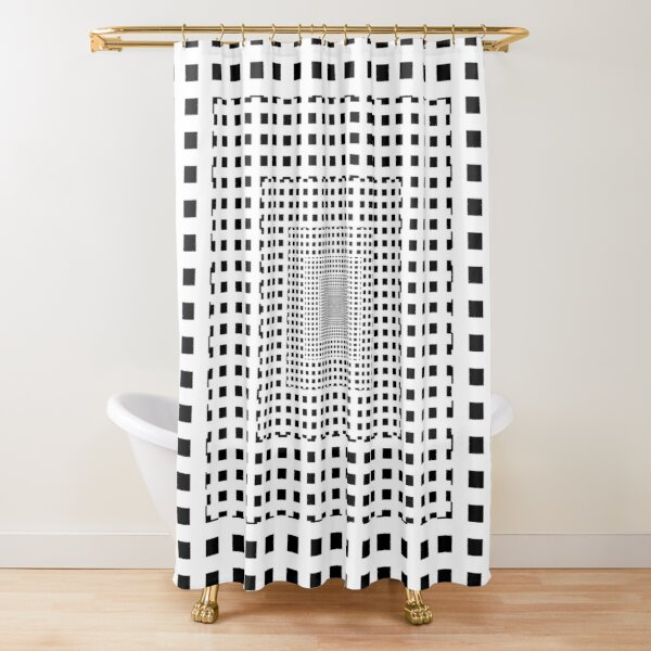 Gold Ratio Shower Curtain