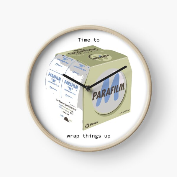 Time to wrap things up  Clock