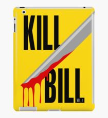Kill Bill film poster iPad Case/Skin