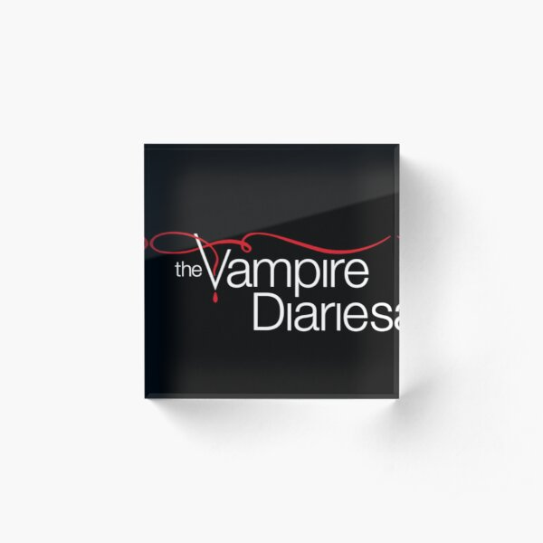 The Vampire Diaries Acrylic Block