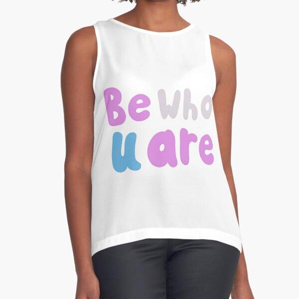 Be Who U Are Sleeveless Top