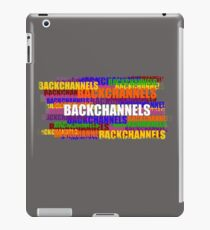 BACKCHANNELS! iPad Case/Skin
