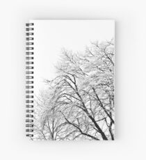 Snowscape Spiral Notebook