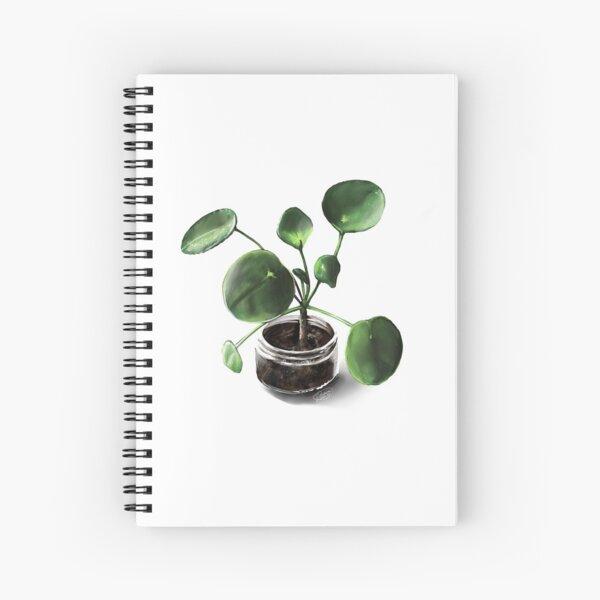 Pretty in Pilea Spiral Notebook