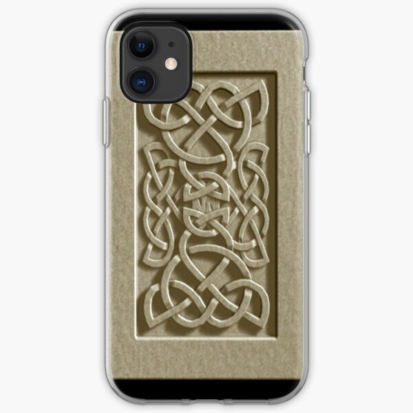 Celtic in Stone iPhone Soft Case