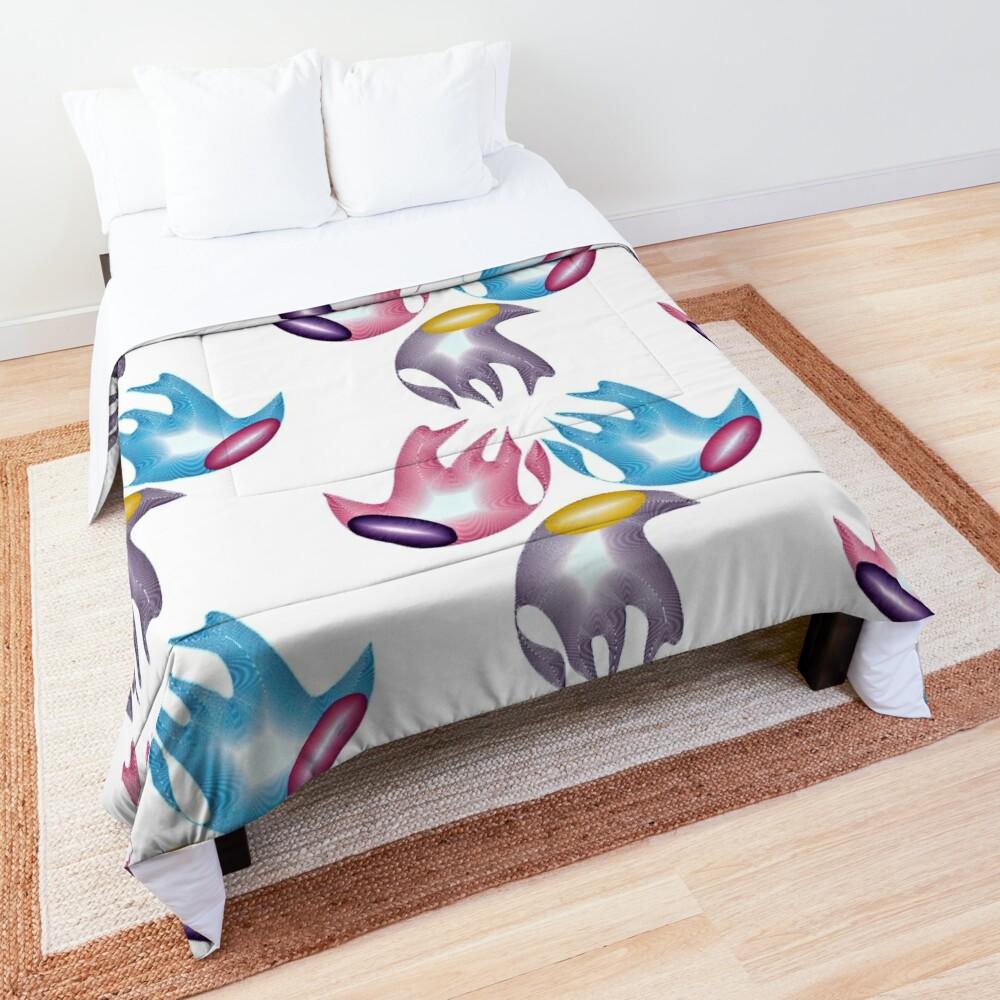 Marine creatures Comforter