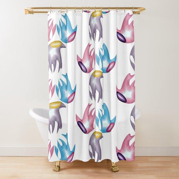 Marine creatures Shower Curtain