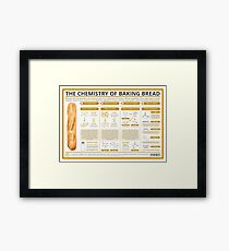 The Chemistry of Bread-Making Framed Print