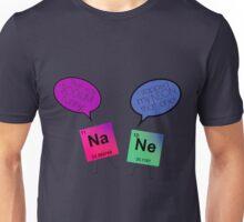 Sodium and Neon Chemistry Pun Unisex T-Shirt