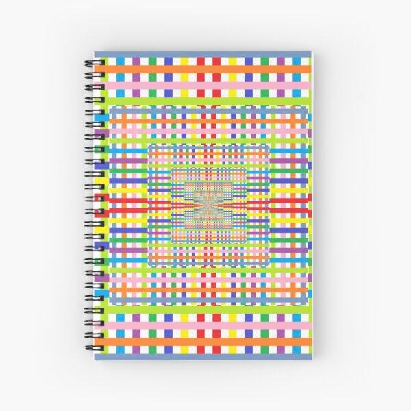 Gold Ratio Spiral Notebook