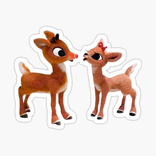 Rudolph the red nose reindeer Sticker