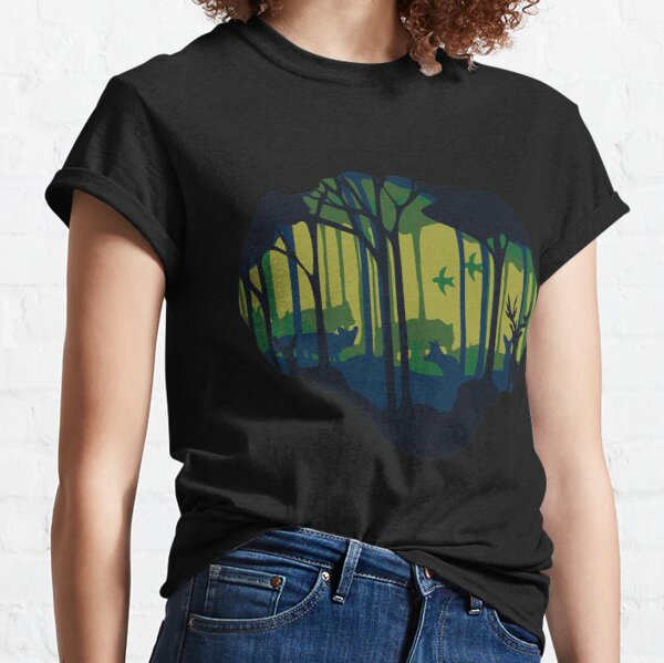A view into the forest Classic T-Shirt
