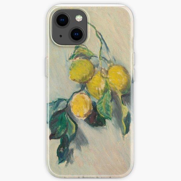 Claude Monet  LEMON TREE BRANCH iPhone Soft Case