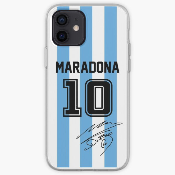 Maradona Jersey Funda blanda para iPhone