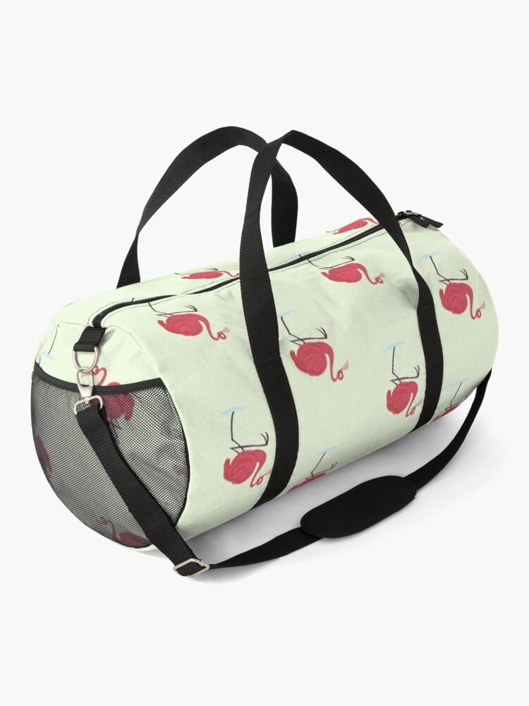 Alternate view of Flim Flam Flamingo  Duffle Bag