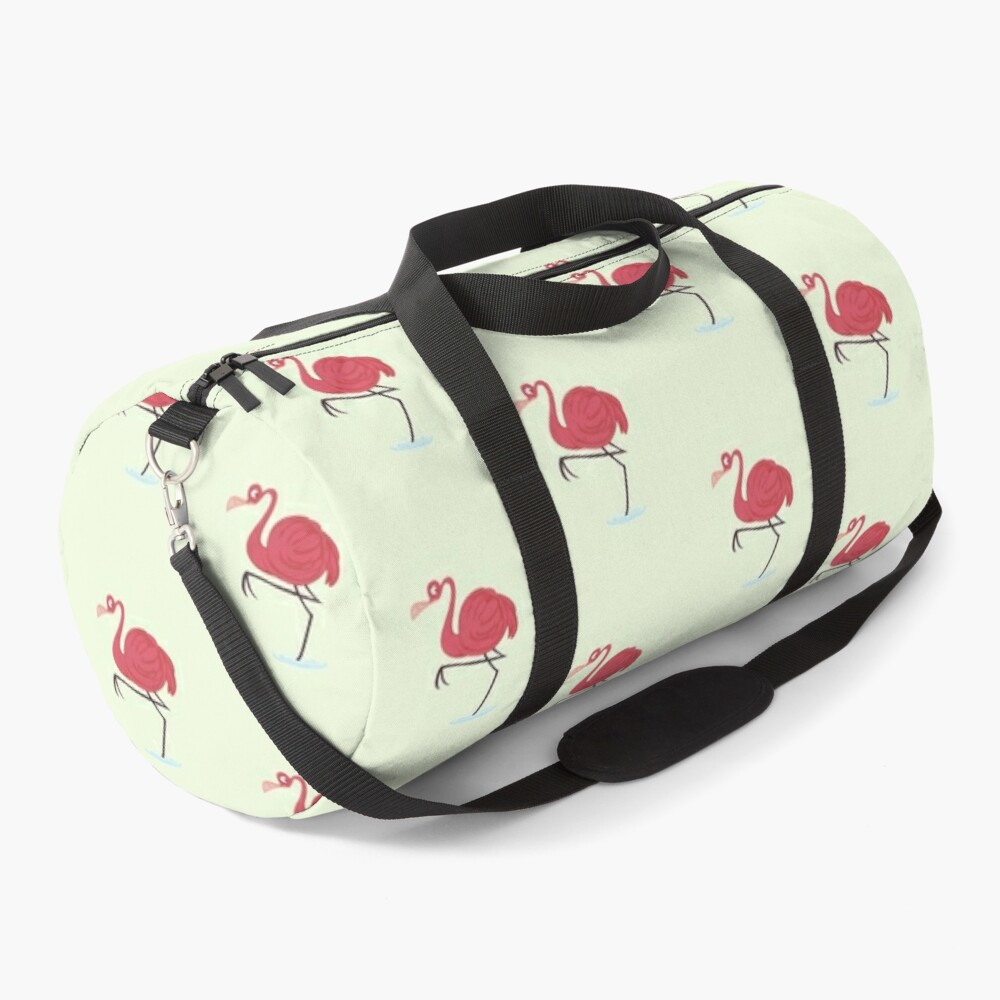 Flim Flam Flamingo  Duffle Bag