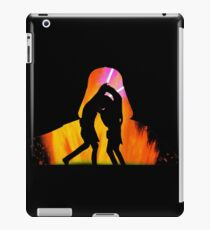 Star Wars - Anakin Skywalker Vs Obi Wan Kenobi iPad Case/Skin