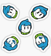 Obie Faces Sticker