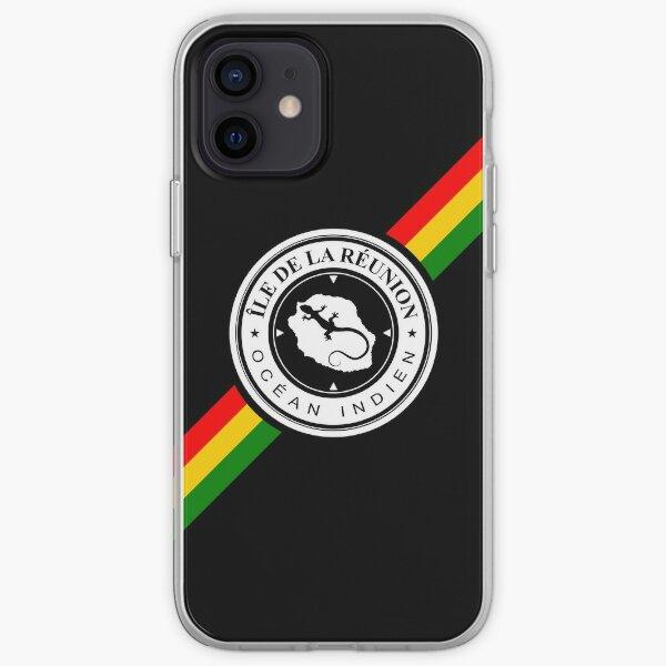 Ile de la Reunion - Margouillat R Coque souple iPhone