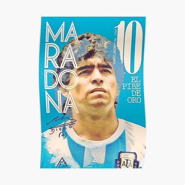 Hommage à Diego Maradona Poster