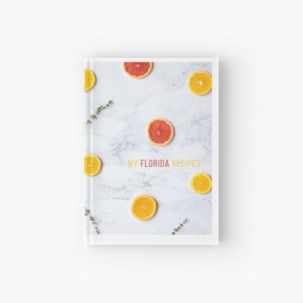 My Florida Recipes Hardcover Journal