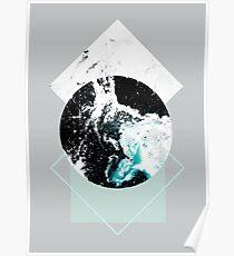 Geometrische Texturen 2 Poster