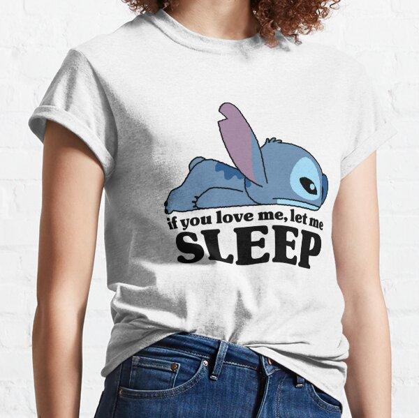 Lilo y Stitch Sleepy Stitch Camiseta clásica