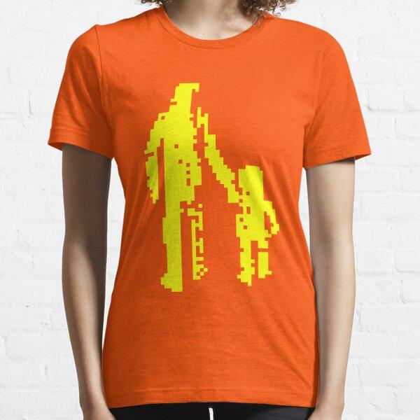 1 bit pixel pedestrians (yellow) Essential T-Shirt