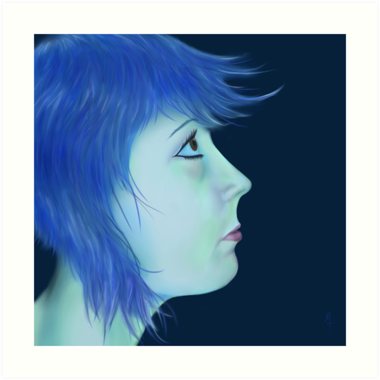 Blue by mtait
