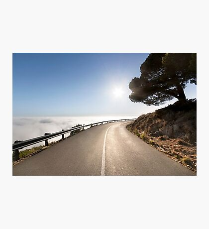 My Road in Heaven Photographic Print