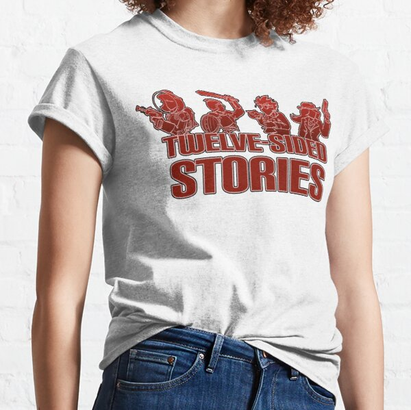 Twelve-Sided Stories Red Logo Classic T-Shirt