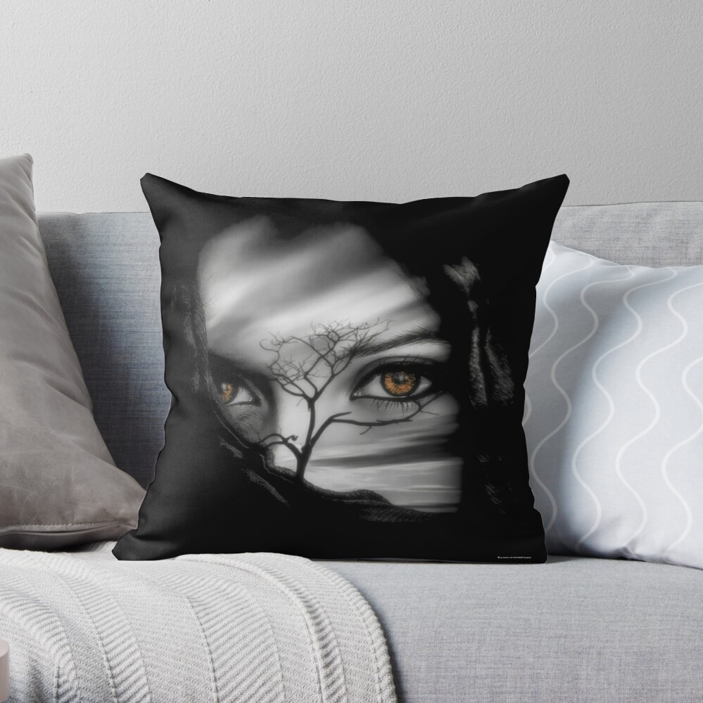 Allure of Arabia Throw Pillow
