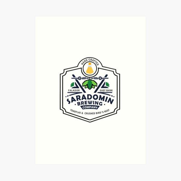 Saradomin Brewing Company OSRS Art Print