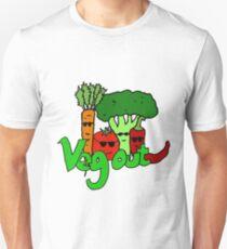 Veg out! Unisex T-Shirt