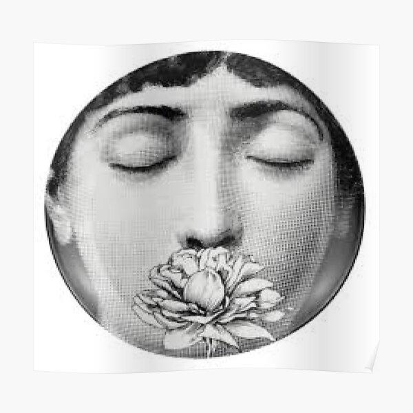 The Fornasetti Rose Poster