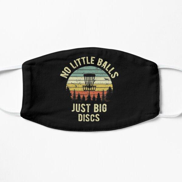 Disc Golf Shirt Funny Retro No Little Balls Disc Golf Gift T-Shirt Mask