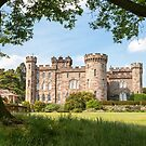 Cholmondeley Castle Cheshire England by John Keates