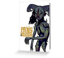 Pan's Labyrinth Greeting Card