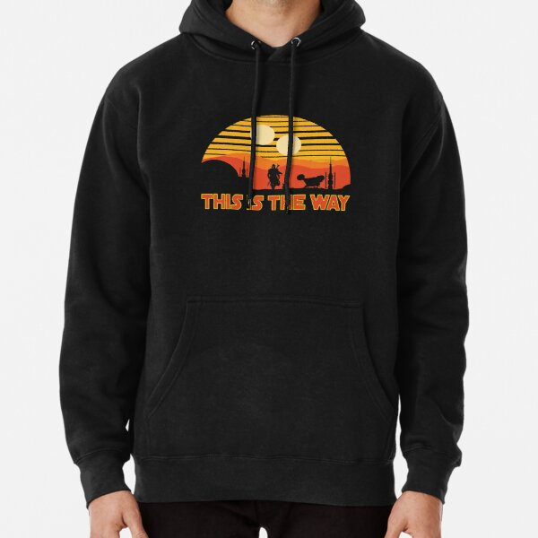 mando this is the way Pullover Hoodie