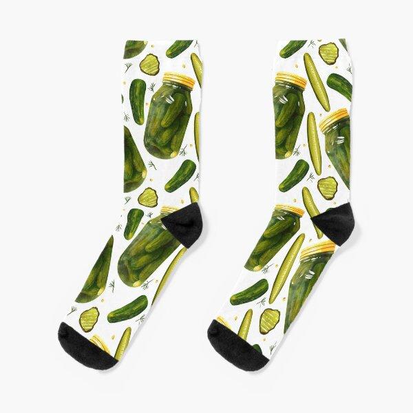 Pickles Pickles Pickles by Christine Leader Socks