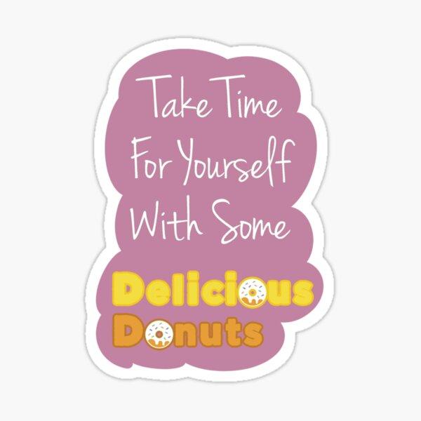 Delicious Donuts Sticker