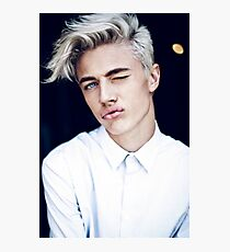 Lucky Blue Smith - Kiss (Color) Photographic Print