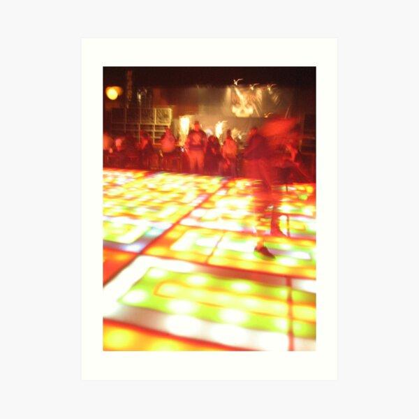 Last Disco Floor Art Print