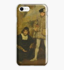 Edouard Charlemont THE PAGES iPhone Case/Skin