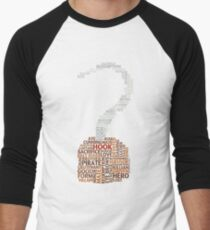 Captain Hook Once Upon A Time Typography T-Shirt