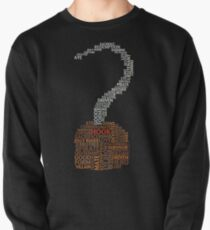Captain Hook Once Upon A Time Typography Pullover