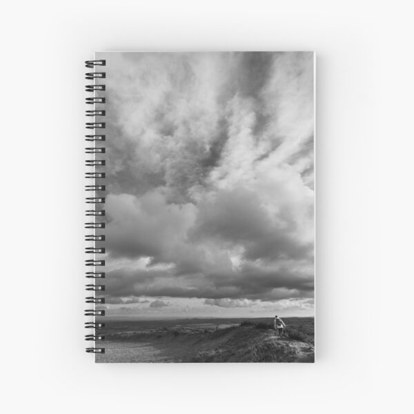 Into the Big Sky Spiral Notebook