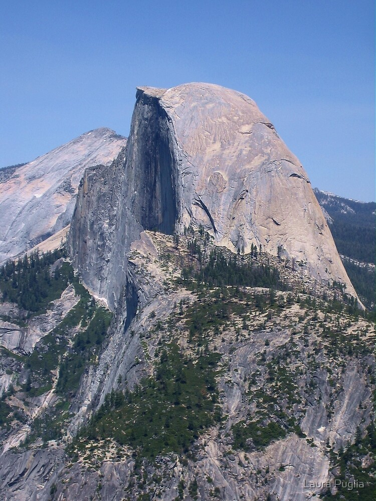 Half Dome, Yosemite National Park  by Laura Puglia